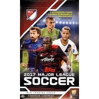 2017 Topps MLS Hobby 24 Pack Box (Factory Sealed) (Major League Soccer)