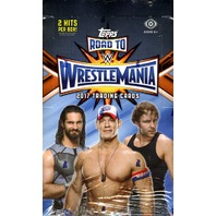 2017 Topps WWE Road To Wrestlemania 8 Hobby Box Case (Sealed)
