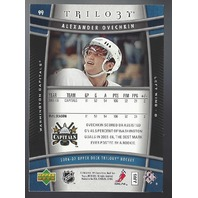 Alexander Ovechkin Washington Capitals 2006-07 UpperDeck Trilogy Hockey #99