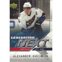 Alexander Ovechkin 2007-08 UD Series 1 Generation Next Washington CApitals 1880