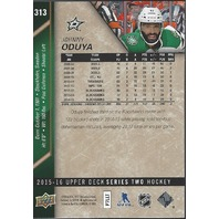JOHNNY ODUYA 2015-16 UD Upper Deck Series 2 (S2) Exclusives /100 Dallas Stars