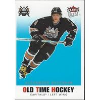 Alexander Ovechkin 2007-08 UD Fleer Ultra Old Time OT1 Washington CApitals