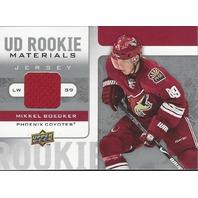 Mikkel Boedker Upper Deck Rookie Materials Jersey Relic Phoenix Coyotes 2008-09