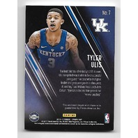 TYLER ULIS 2016-17 Panini Day NBA Galactic Window patch /25 Kentucky