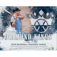 2018 Panini Donruss Diamond Kings Baseball Hobby 12 Box CASE (Factory Sealed)