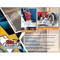2018 Topps Finest Baseball Hobby 8 Master Box Case (Sealed)