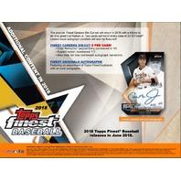 2018 Topps Finest Baseball Hobby Sealed MINI BOX (6 Packs w/ 5 Cards Each)