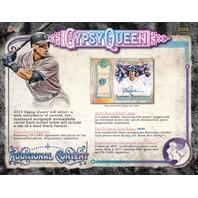 Three(3) 2018 Topps Gypsy Queen Baseball HOBBY PACK (Factory Sealed)(Random)