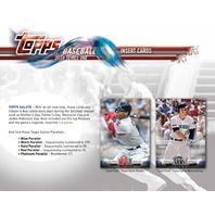 2018 Topps Series 1 Baseball Jumbo Hobby Box (Sealed/12 Packs) w/ 2 Silver Packs