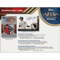2018 Topps Tier One Baseball Hobby Pack/Box (3 Cards)(Factory Sealed)