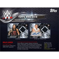 (3)Three 2018 Topps WWE Wrestling Hobby (7 Card) PACK (Factory Sealed)
