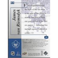 James Van Riemsdyk Toronto Maple Leafs 2014 SP Hockey