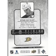Ryan Getzlaf Anaheim Ducks 2014-15 UpperDeck Series Two Hockey UD Portraits #P-40