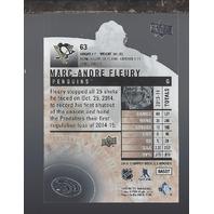 Marc-Andre Fleury 2013-14 Upper Deck UD Ice Pittsburgh Penguins #63
