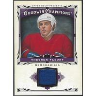 Theoren Fleury Goodwin Champions Jersey Relic 2013 #M-TF Calgary Flames