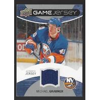 Michael Grabner 2012-13 Upper Deck UD Series 1 Game Jersey GJGB New York Rangers