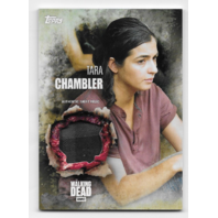 Tara Chambler 2016 Topps Walking Dead season 5 Authentic shirt relic