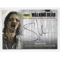 Greg Nicotero 2016 Cryptozoic Walking Dead season 4 auto Card GN4 Autograph