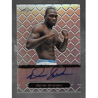 DEREK GRUNSON 2011 Leaf MMA Metal UFC Authentic Signature Refractor auto /50