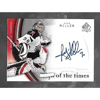 Ryan Miller 2005-06 SP Authentic Hockey Sign Times Autograph Auto  #RM