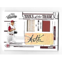 AUSTIN KEARNS 2005 Playoff Absolute Tools Trade auto 2 swatch /50