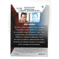 KID KASH 2012 Tristar Impact Wrestling TNA Reflexxions auto /50 Autograph