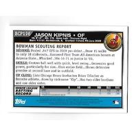 JASON KIPNIS 2010 Topps Bowman Chrome Prospects auto #BCP196 Indians