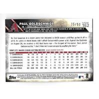 PAUL GOLDSCHMIDT 2016 Topps Chrome Gold Refractor /50