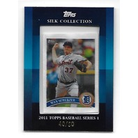MAX SCHERZER 2011 Topps Silk Collection /50 Washington Nationals