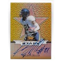 KEENAN ALLEN 2013 Leaf Valiant Draft Stars Yellow Prizmatic Autograph /10 auto