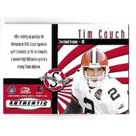 TIM COUCH 2000 Donruss Signature Series Red auto Print Run 25