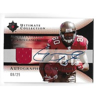 MICHAEL CLAYTON 2005 UD Upper Deck Ultimate Collection auto /25 Buccaneers