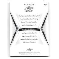 ALSHON JEFFERY 2012 Leaf Ultimate Draft Inscriptions Autograph auto 25/25 AJ1