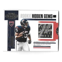 ANDRE JOHNSON 2003 Playoff Honors Rookie Hidden Gems patch /700 Houston Texans