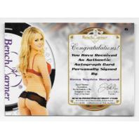 Anna Sophia Berglund 2014 BenchWarmer Industry Summit Vegas Baby Gold /10 auto