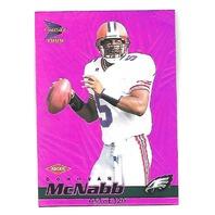 DONOVAN McNABB 1999 Pacific Prism Holographic Purple RC /320 rookie Eagles