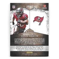 DOUG MARTIN 2012 Momentum Rookie Team Threads Dual Materials Prime Signatures/15