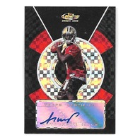 ADRIAN McPHERSON 2005 Topps Finest Black Xfractor auto /25 New Orleans Saints