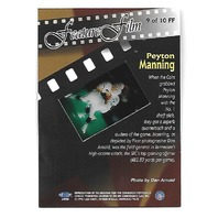 PEYTON MANNING 1998 Flair Showcase Feature Film #9 Indianapolis Colts Rookie RC