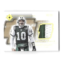 CHAD PENNINGTON 2004 Upper Deck Ultimate Collection 2 color Prime Patch /25 Jets