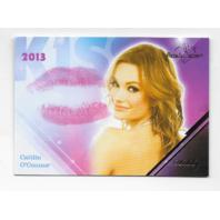 Caitlin O'Connor 2013 Benchwarmer Kiss Card #27