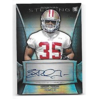 ERIC REID 2013 Topps Bowman Sterling RC Prizm Refractor Rookie auto RC bsa-er/15