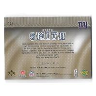 STEVE SMITH 2007 Upper Deck SP Rookie Threads Letterman patch auto /150