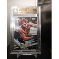 Michael Chiesa 2017 Topps Chrome UFC BLACK Refractor /10 BGS 9.5 GEM MINT POP=1