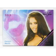 Carolyn Martin 2013 Benchwarmer Kiss Card #13