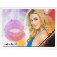 Andrea Lowell 2011 Benchwarmer Limited Kiss Card
