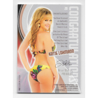 Katie Lohmann 2013 Benchwarmer Authentic Swatch #20