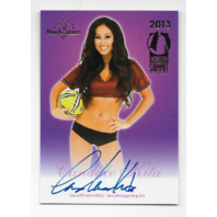 Candace Kita 2013 Benchwarmer Industry Summit auto soccer ball Autograph