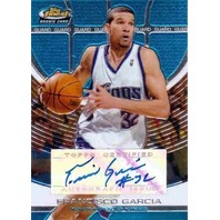 FRANCISCO GARCIA 2005-06 Topps Finest Autograph Auto Rookie Card 326/349
