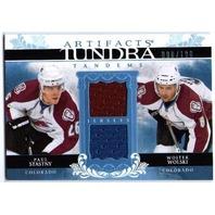 PAUL STASTNY WOJTEK WOLSKI 2009-10 UD Artifacts Tundra Tandems Dual Jersey /100